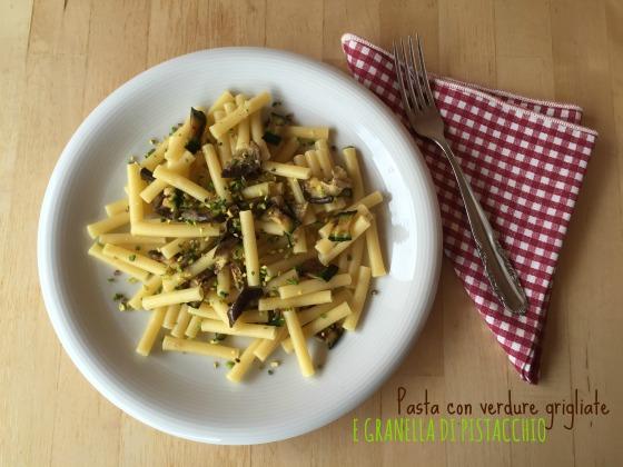 pasta verdure e pistacchio